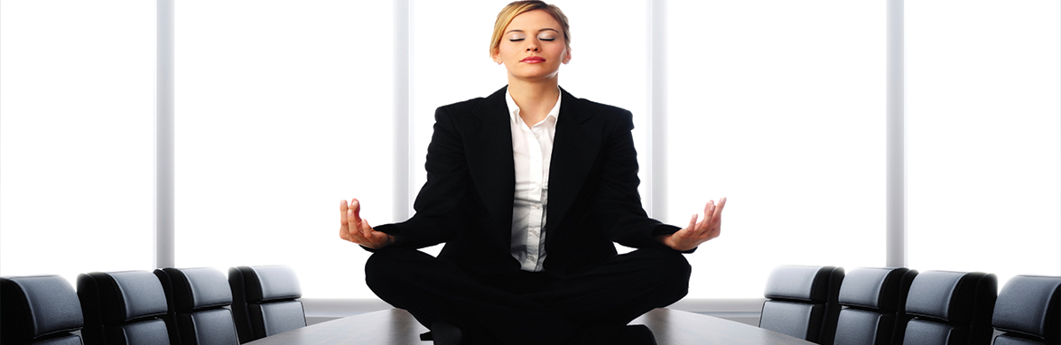 Female-Executive-Meditating