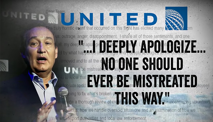 Leadership Lesson From United Airlines